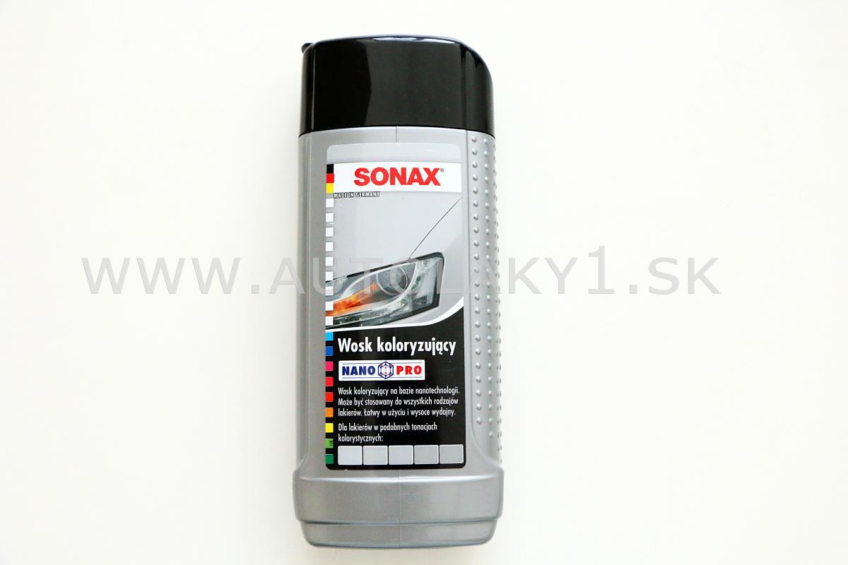 sonax polish wax color nano pro edo strieborn 250ml. Black Bedroom Furniture Sets. Home Design Ideas